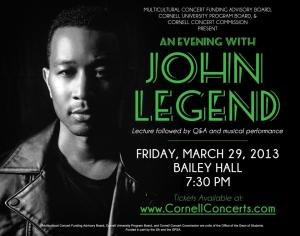 John Legend Flyer