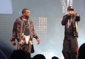Kanye West in Givenchy kilt