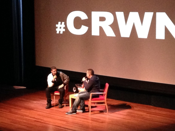 Drake & Elliott Wilson #CRWN Event NYC, September 2013
