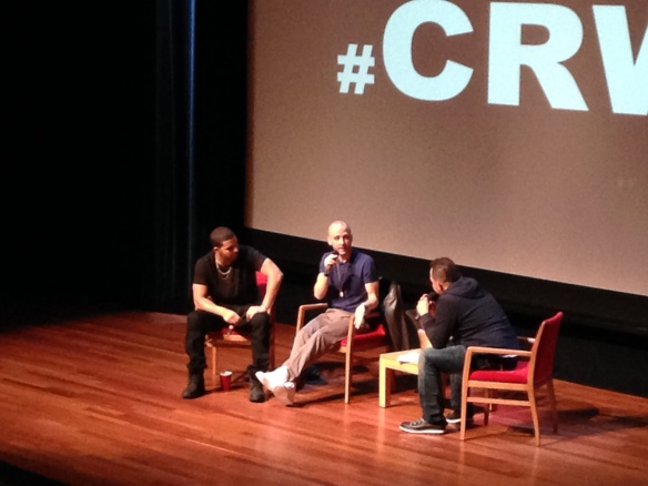 Drake, 40, and Elliott Wilson #CRWN Event NYC, September 2013