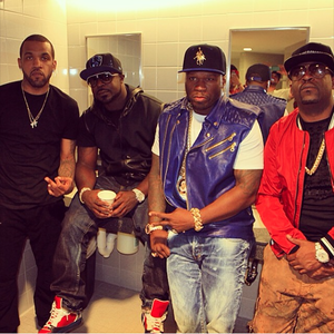 50 Cent, Young Buck, Tony Yayo & Lloyd Banks at Hot97's Summer Jam (6/1/14)