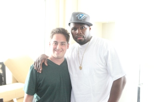 Me and 50 Cent (Summer 2010)