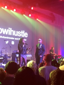 Estelle & Jeremih, NYC, August 2014
