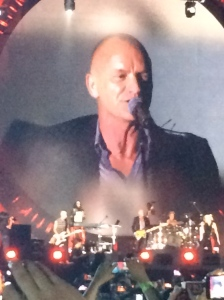 Sting, Global Citizens Festival, Central Park, Sept. 2014