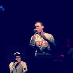 "Logic ""Under Pressure"" album listening event, NYC, Oct. 2014"